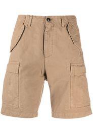 Fortela Knielange Cargo-Shorts - Braun