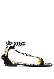 Missoni Sandalen mit Knöchelband - Weiß