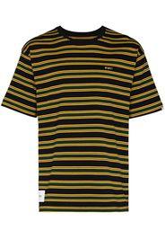 WTAPS Gestreiftes Jam 01 T-Shirt - Schwarz