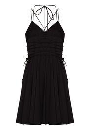 16Arlington Katsina lace-up dress - Nero