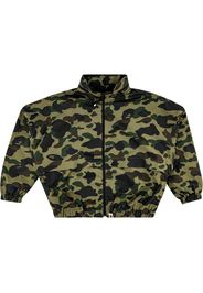 1st Camo Wide Cropped Jacket