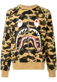 1st camo Shark sweatshirt