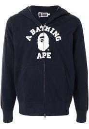 classic full-zip logo hoodie