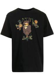 A BATHING APE® graphic-print short-sleeved T-shirt - Nero