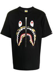 A BATHING APE® Shark graphic-print T-shirt - Nero