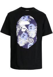 A BATHING APE® Storm Big Ape Head T-shirt - Nero