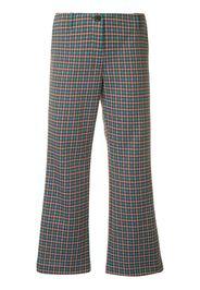Pantaloni svasati crop