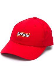 Cappello con pannello a rete