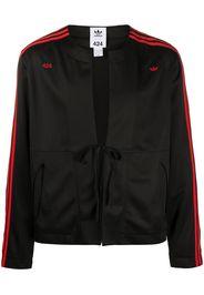 three-stripe kimono jacket