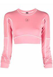 adidas by Stella McCartney TrueStrength yoga crop top - Rosa