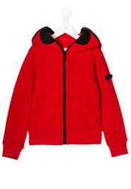 goggle zip up jacket