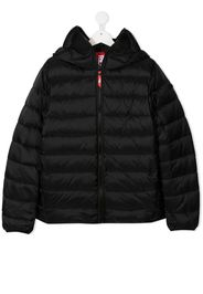 TEEN Mico-Ripstop goggle-hood coat