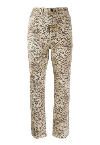 Pantaloni con stampa