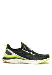 Sneakers con pannelli a contrasto