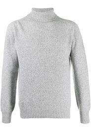 roll-neck knit jumper