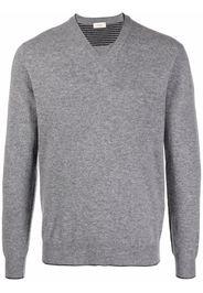 Altea V-neck knitted jumper - Grigio
