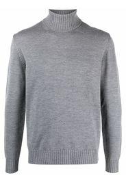 Altea roll neck wool jumper - Grigio