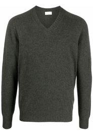 Altea V-neck knitted jumper - Verde