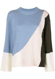 Apiece Apart Maglione con design color-block Shasta - Multicolore