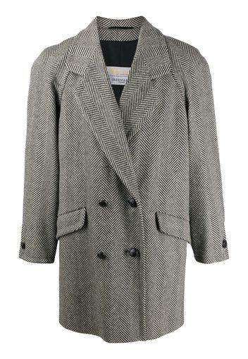 1980s herringbone coat