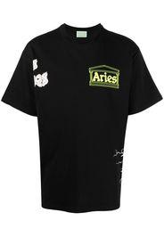 Aries T-shirt con stampa - Nero