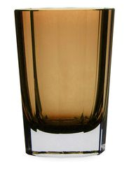 faceted single Old Fashioned glass