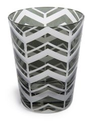 'Graphic' single Old Fashioned glass