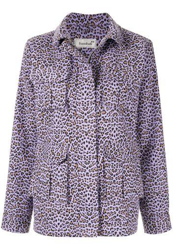 Giacca leopardata