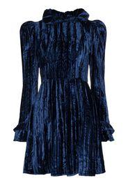prairie velvet mini dress