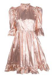 LD LAME METALLIC DRESS