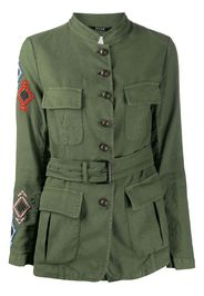 embroidered military jacket