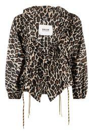 Bazar Deluxe Blusa leopardata - Toni neutri