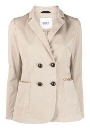 Bazar Deluxe double-breasted blazer - Toni neutri