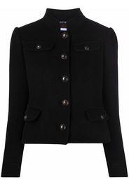 Bazar Deluxe wool-blend military jacket - Nero