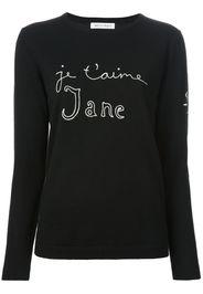 Maglione 'Je t'aime Jane'