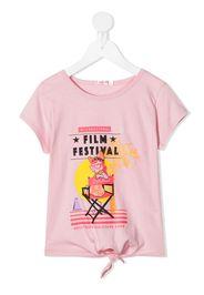 Billieblush Film Festival-print T-shirt - Rosa