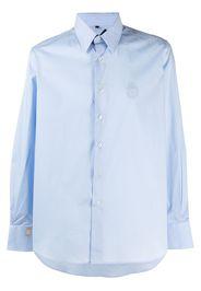 Billionaire Camicia con ricamo - Blu