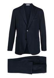 Boglioli single-breasted virgin wool suit - Blu