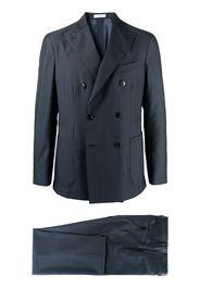 Boglioli double-breasted two-piece suit - Blu