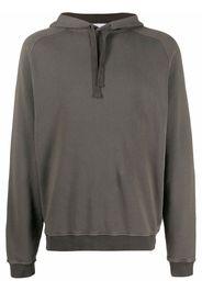 Boglioli raglan-sleeve pullover hoodie - Verde