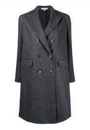 Boglioli fitted double-breasted coat - Grigio