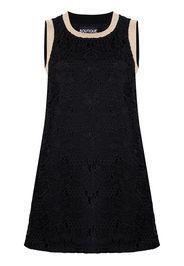 Boutique Moschino Vestito corto con ricamo - Nero