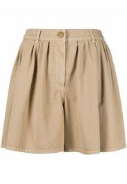 Boutique Moschino Shorts a pieghe - Toni neutri