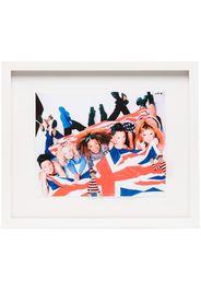 Cornice con stampa The Spice Girls (35cm x 41cm)