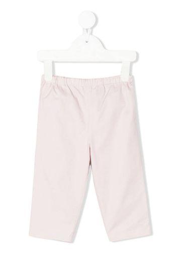Pantaloni con motivo a quadri