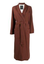 longline wrap coat