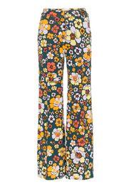 Pantaloni Penelope a fiori