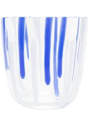 abstract stripe pattern glass