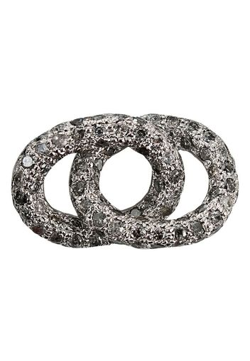 diamond encrusted bracelet link