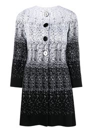 Charlott gradient knitted coat - Bianco